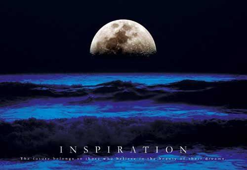 Ocean Moonrise www.barewalls.com