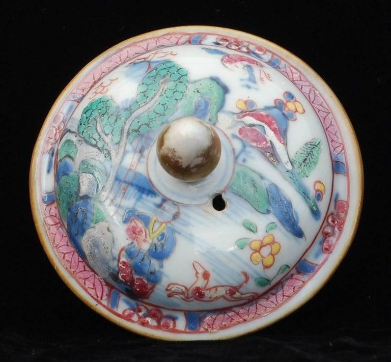 Teapot Prancing Ponies China Circa 1760 Decorated In London Tea Pots Decor Porcelain Teapot