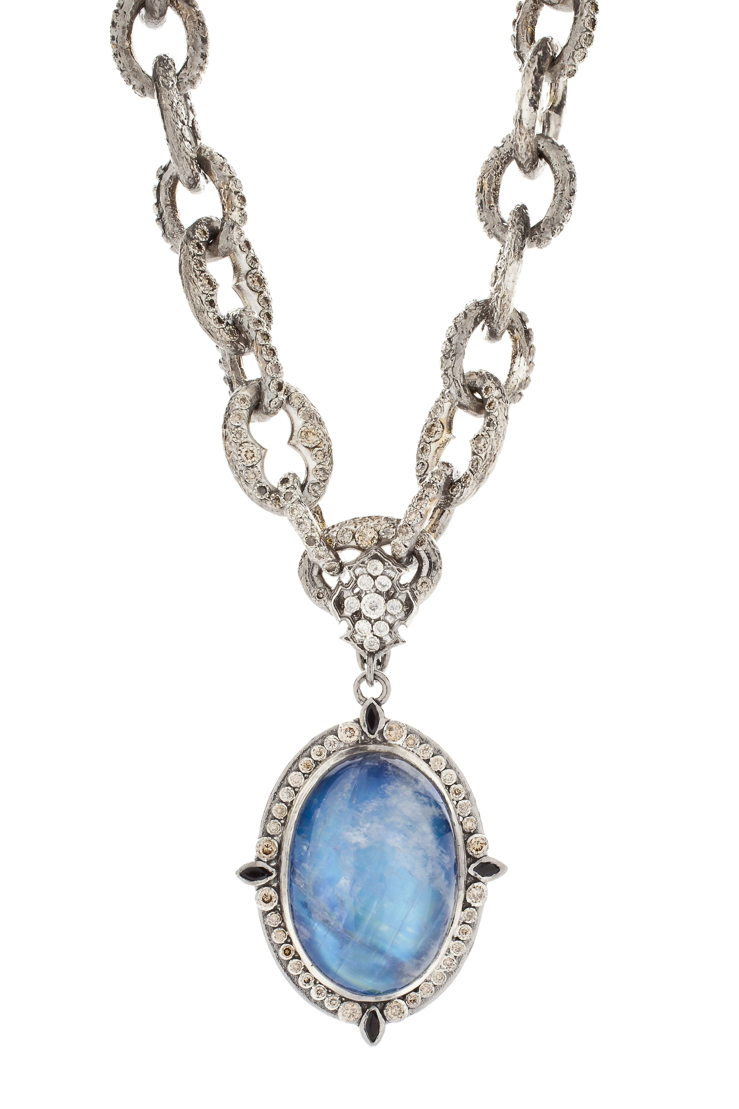 Armenta New World Doublet Pear Pendant Necklace 80jDFYd