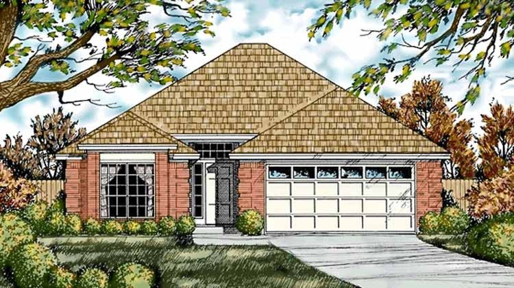 Country Style House Plan 3 Beds 2 Baths 1395 Sq Ft Plan 40 506 Country Style House Plans French Country House French Country House Plans