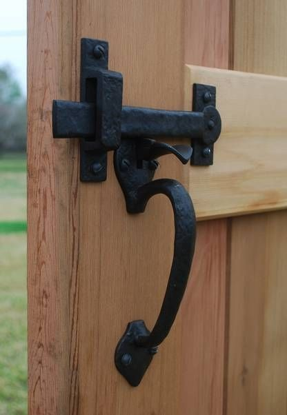 Dark Bronze Two Sided Thumb Latch Build Your Own Package Gate