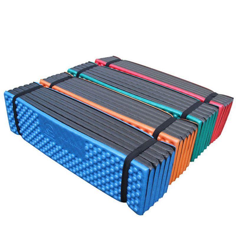 Ultralight Foam Campings Mat Folding Beach Sleeping Pad`Waterproof^Mattress ZN