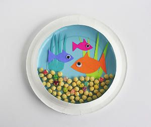 Paper Plate Aquarium & Paper Plate Aquarium | Penguin craft Crafts and Paper plate crafts