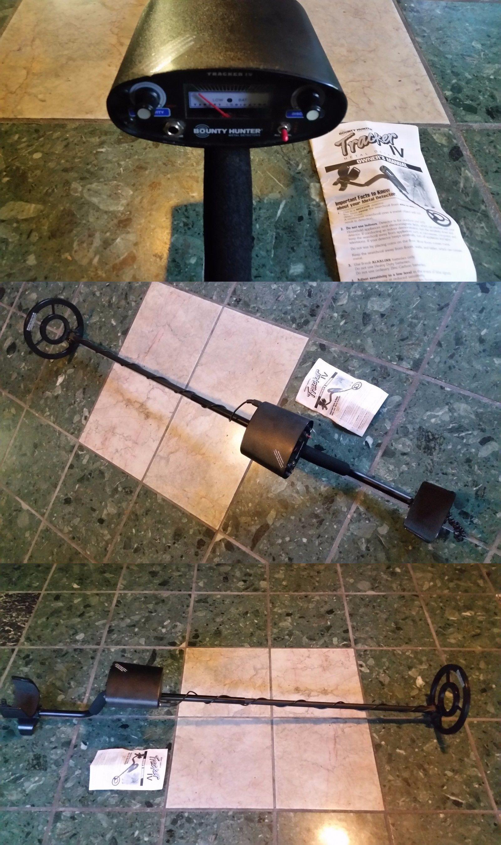 Metal Detectors Bounty Hunter Tk4 Tracker Iv Metal Detector Pirate