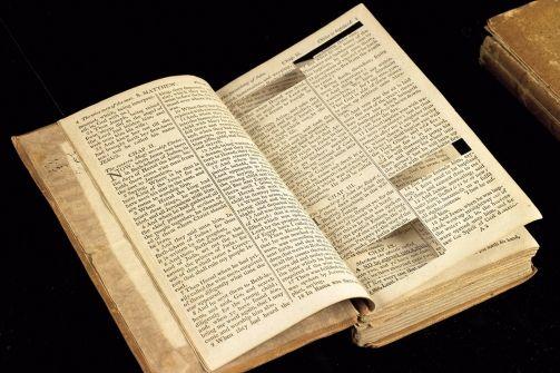 Thomas Jefferson S Bible At The Smithsonian Jefferson Bible Bible Versions Bible