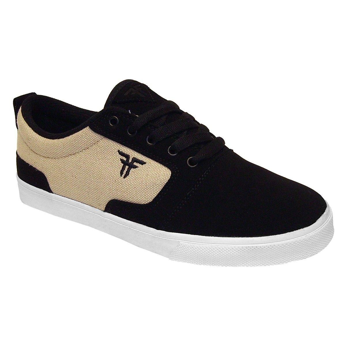 Skate shoes kingston - Fallen Kingston Tommy Sandoval Signature Black Khaki Chaussures De Skate 85 Fallen Fallenfootwear