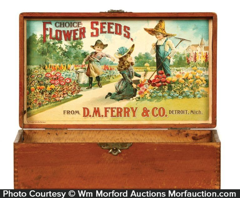 Shakers Garden Seeds Rustic Retro Old Style Wood Sign