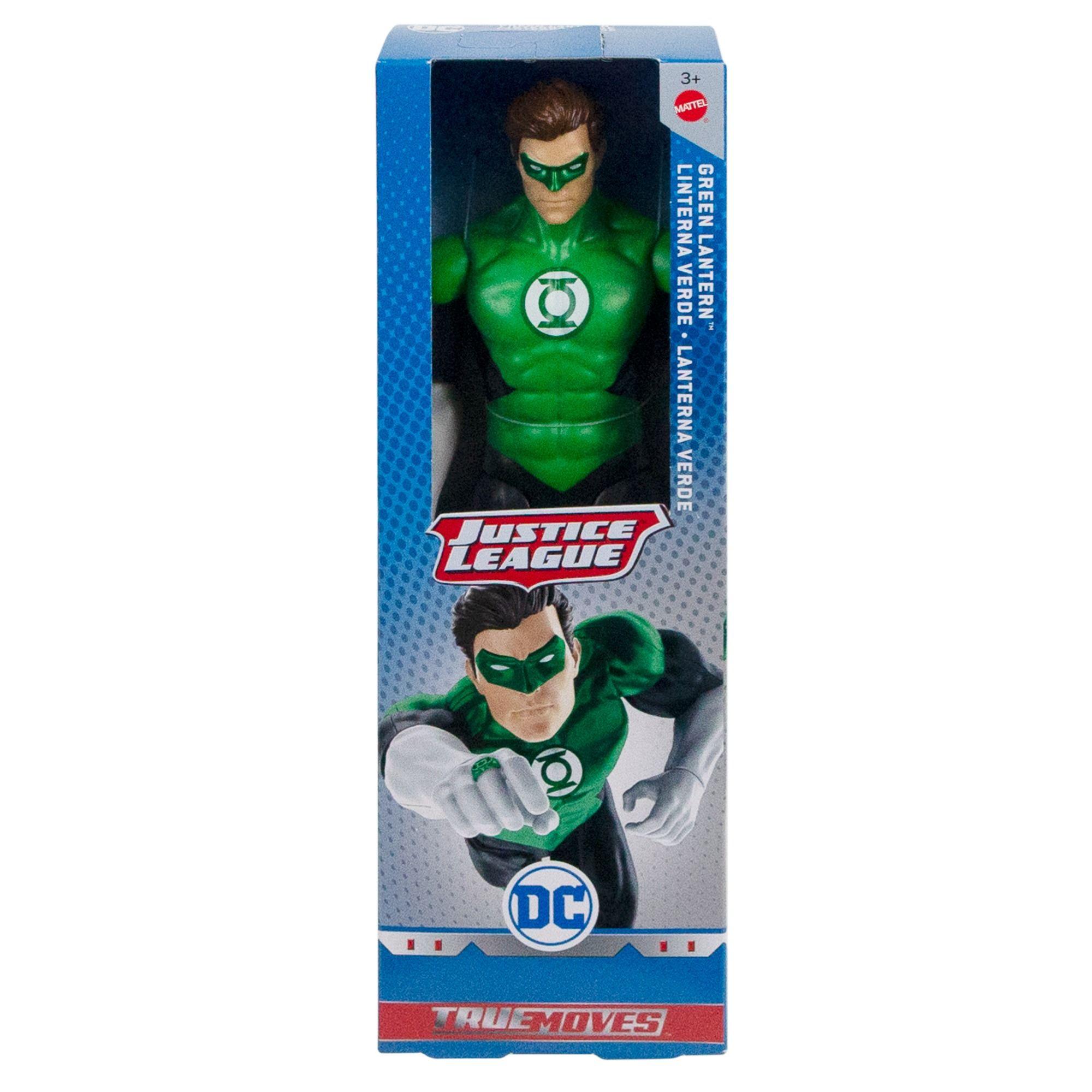 Dc Comics Justice League Green Lantern 12 Action Figure Walmart Com Justice League Action Figures Dc Comics Action Figures