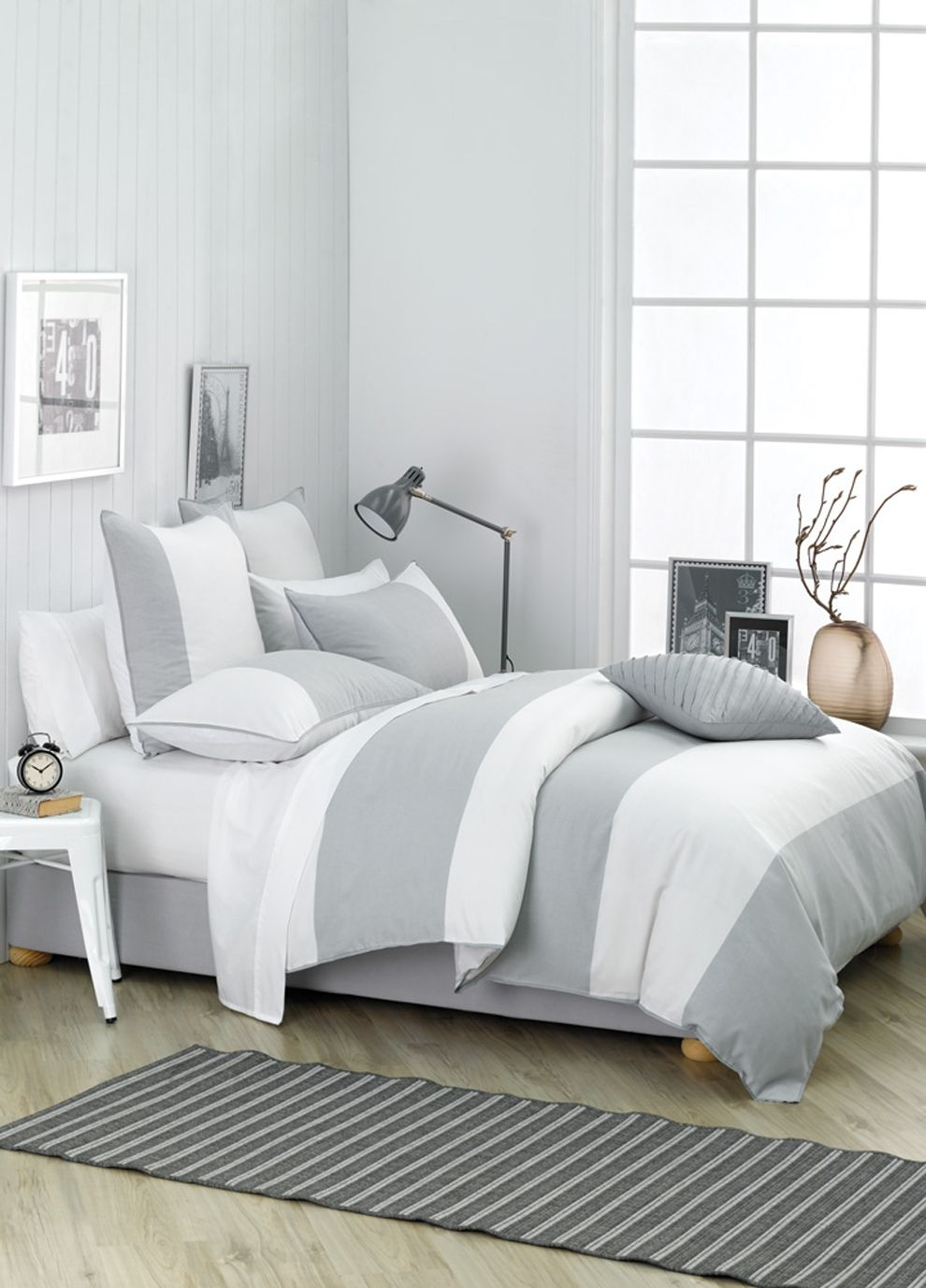 White And Grey Quilt Cover Set Quilt Cover Sets Quilt Cover Bed Bath And Beyond