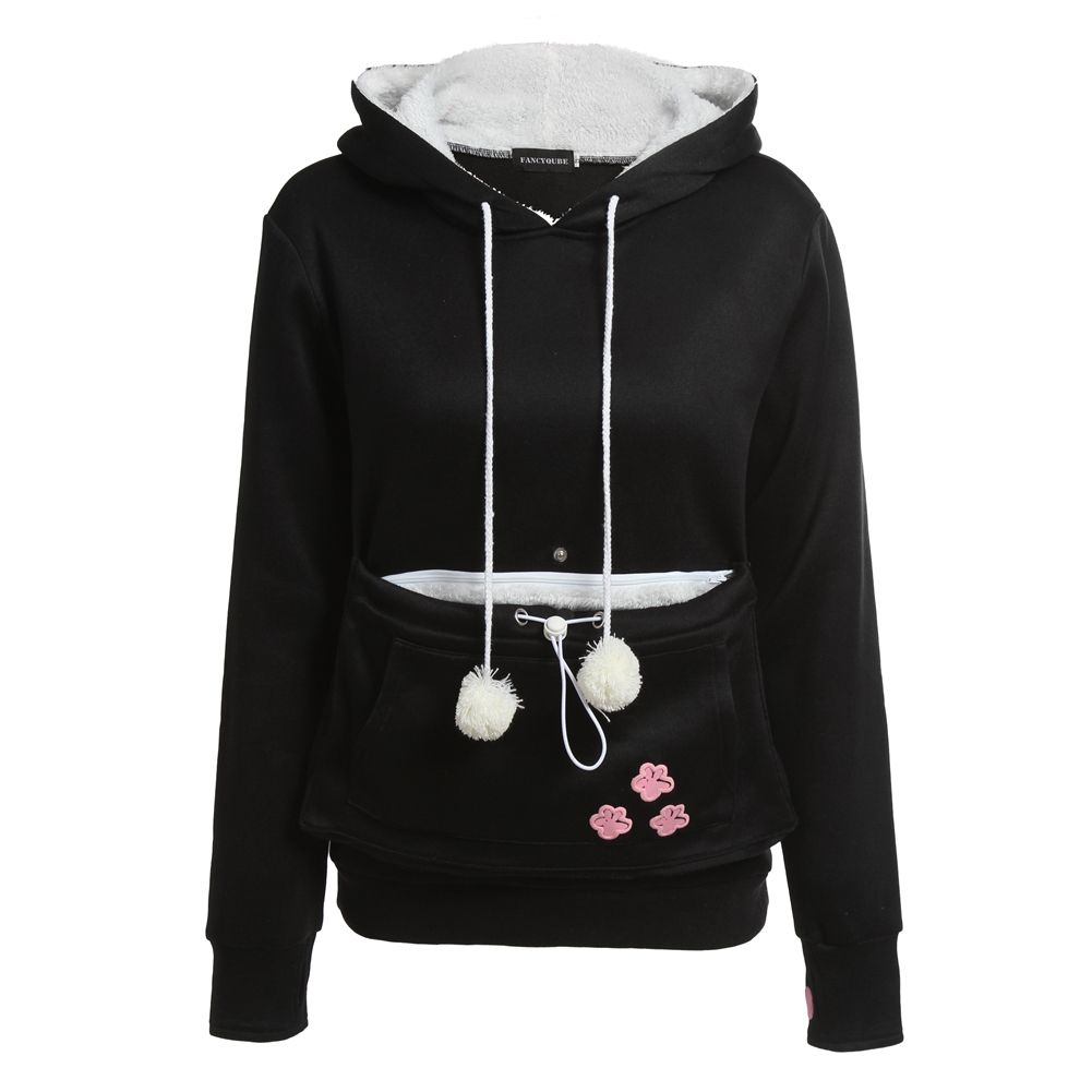 d6ad91af273 Cat Lovers Hoodies With Cuddle Pouch With Ears   Price   24.00   FREE  Shipping     instagood