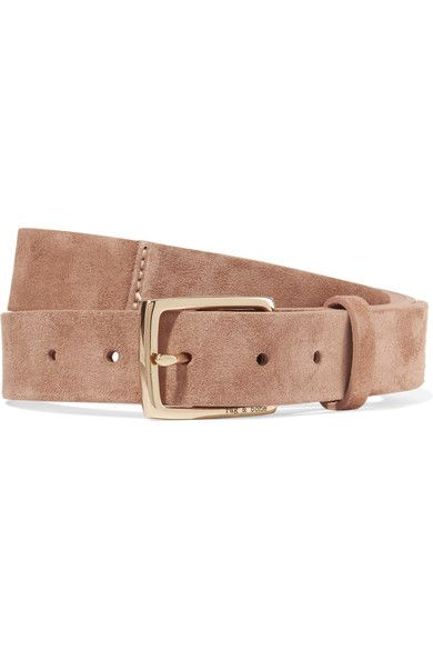 Camel suede (Cow) Buckle fastening Made in England
