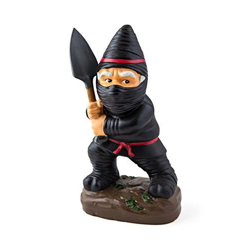 BigMouth Inc Ninja Garden Gnome Statues BigMouth Inc http://www.amazon.com/dp/B00TXNE7M2/ref=cm_sw_r_pi_dp_qmq1wb1Z0PJ0R
