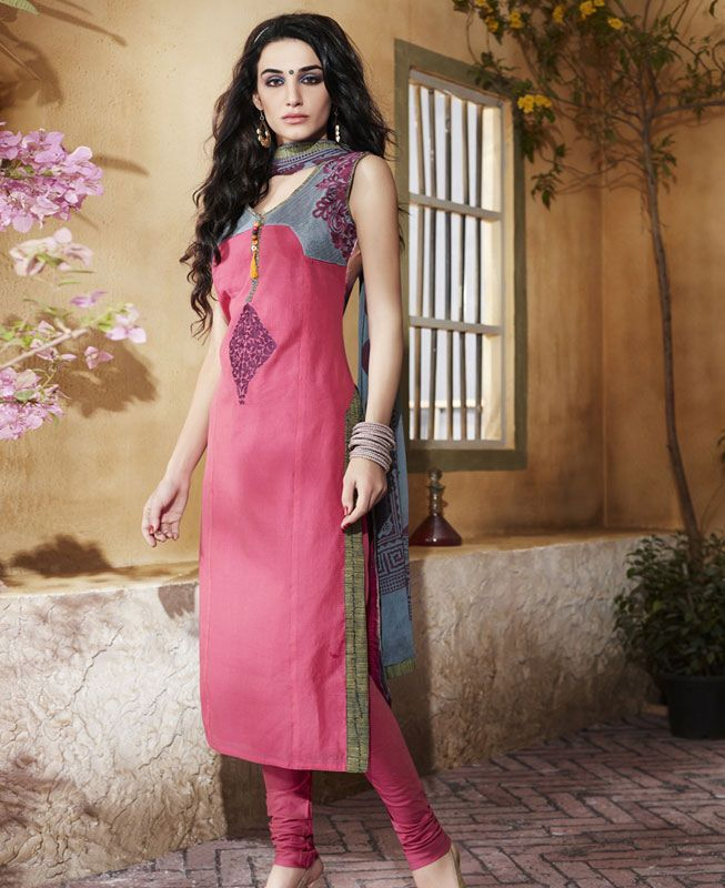 eef7cb165f Buy Comely Pink Readymade Salwar Kameez online at  https://www.a1designerwear.