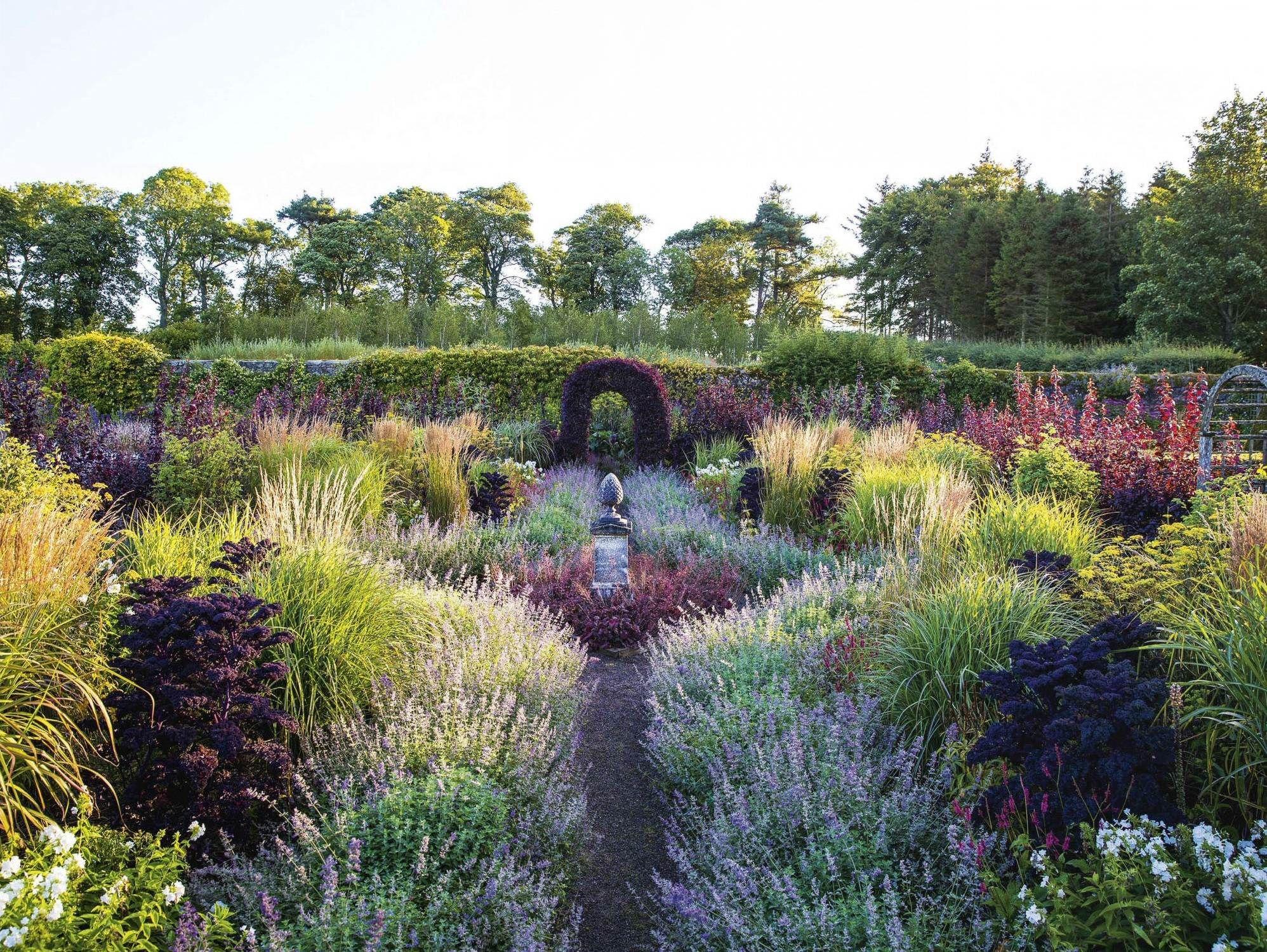 Whitburgh House Garden Midlothian United Kingdom C Claire Takacs Classic Garden House Landscape Garden