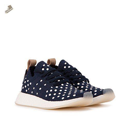 b497cab08 Adidas Women NMD R2 Primeknit W navy collegiate navy footwear white Size  9.0 US - Adidas sneakers for women ( Amazon Partner-Link)