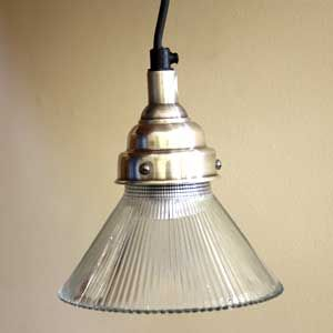 Lustre inox déco industrielle - suspension de cuisine inox - lampe ...