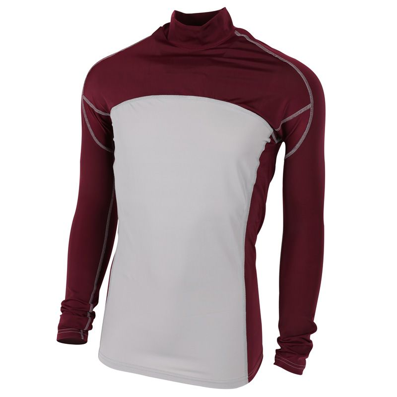 Buy Alleson Tight Fit Yth Mock Neck Long Sleeve Shirt