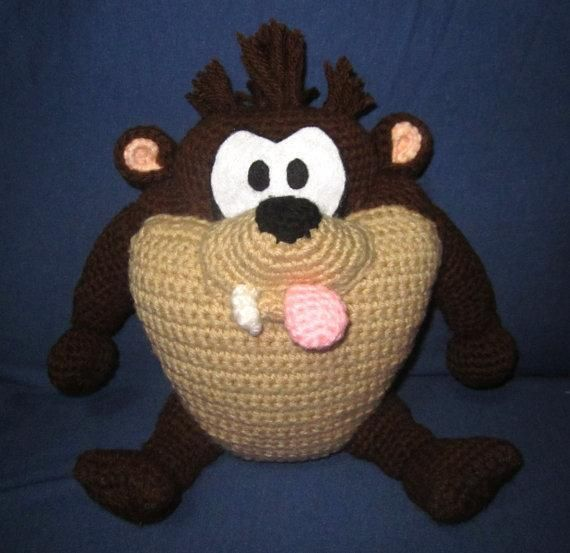 free looney tunes crochet patterns - Google Search (With images ... | 553x570