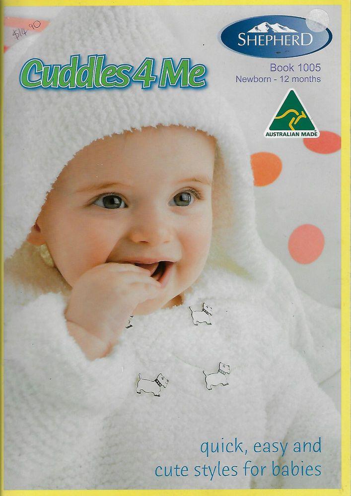 Baby Cuddles 4 Me Shepherd 1005 Knitting Pattern Book Birth 12