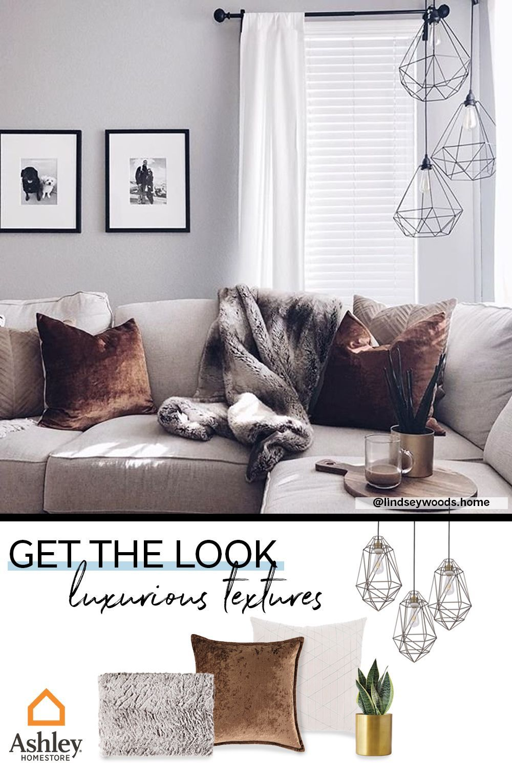 Get The Look Luxurious Textures Living Room Decor Apartment Home Home Decor Cheap home decor ideas for living room