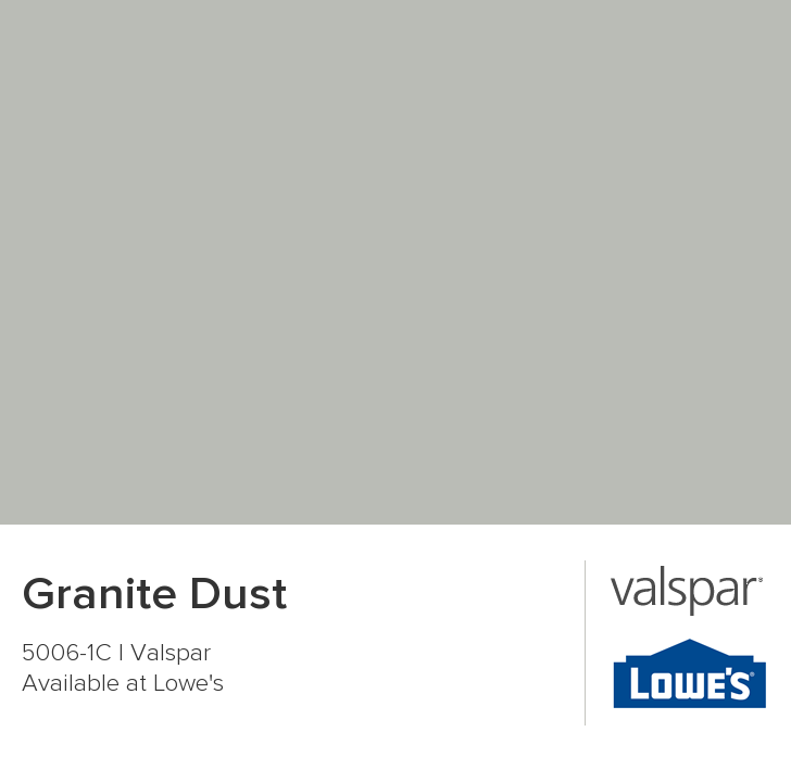Granite Dust From Valspar Valspar Paint Colors Valspar Paint Painting Bathroom