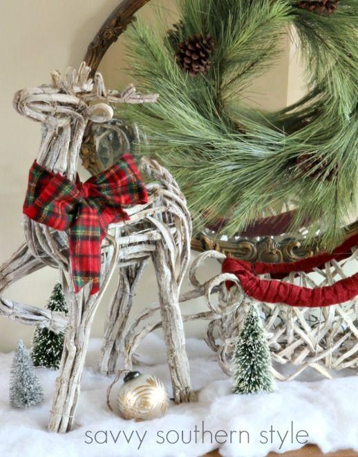 Savvy Southern Style Christmas Foyer Christmas III Pinterest