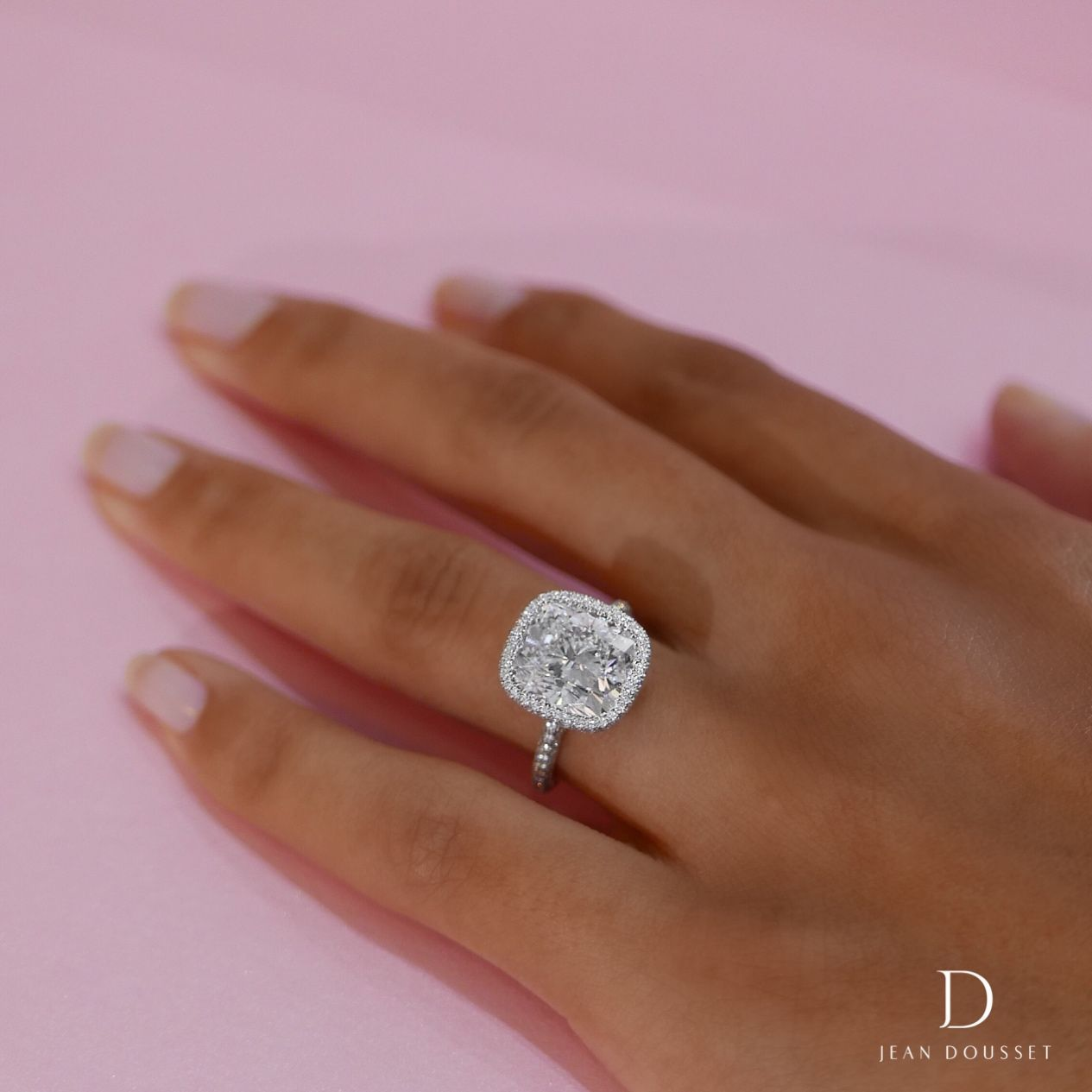 Hand Crafted Wedding Rings: The ATHENA Custom Engagement Ring With 5.00+ Carats