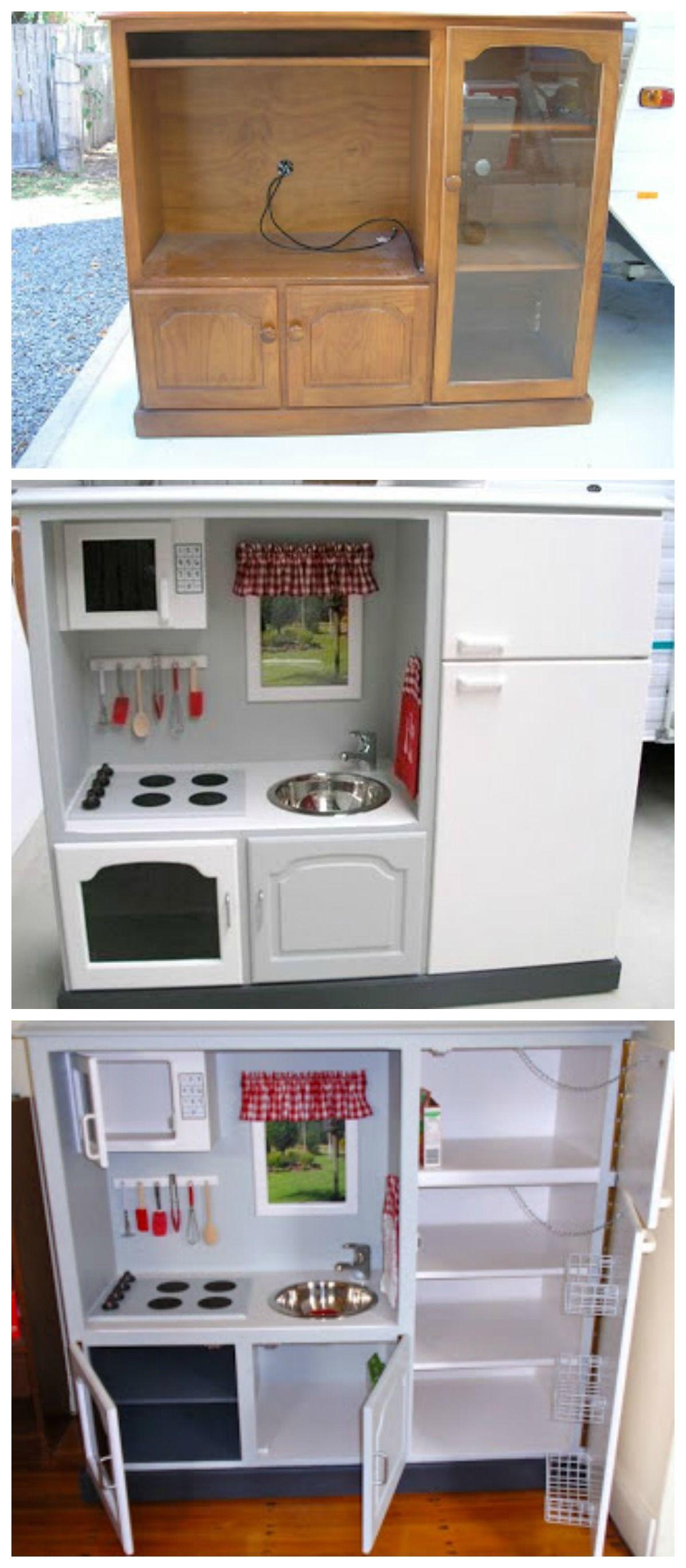 retaper un vieux meuble de tv pour donner a j 39 adore super id e pour la cadeau pinterest. Black Bedroom Furniture Sets. Home Design Ideas