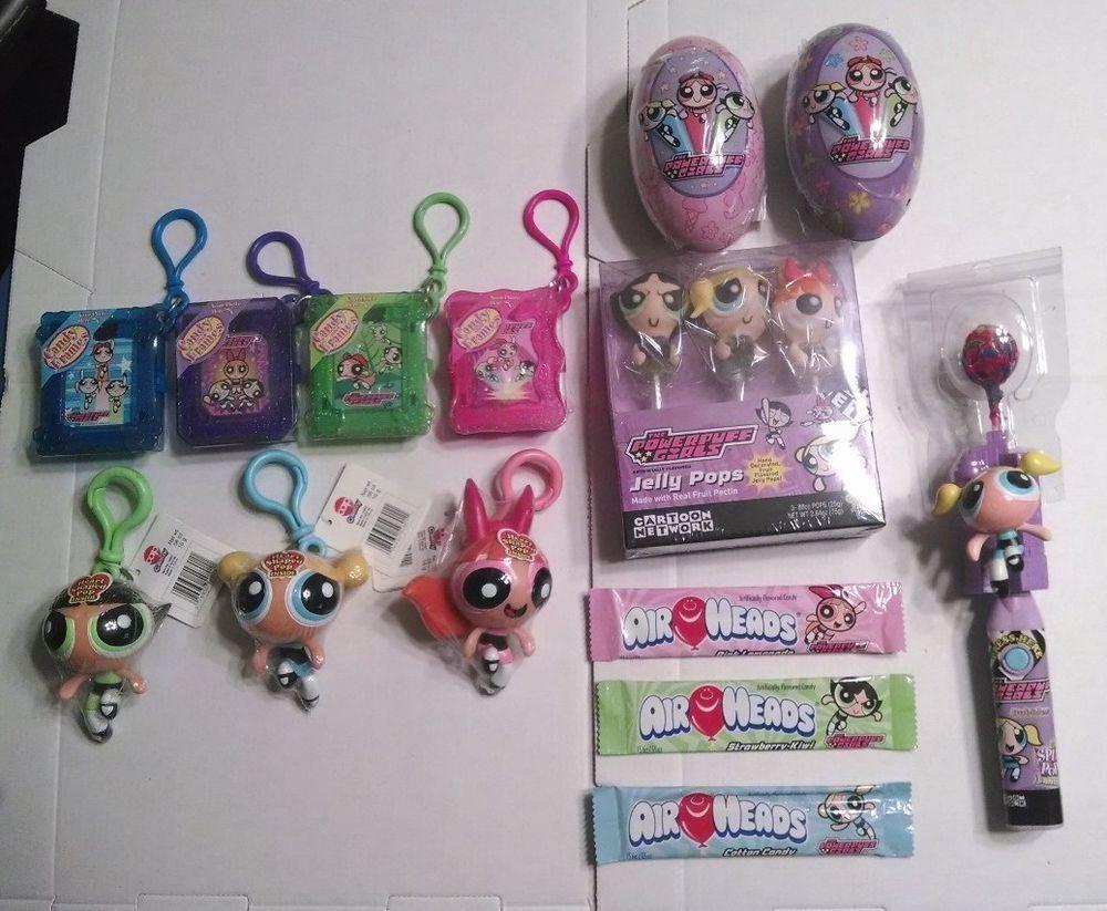 Rare Powerpuff Girls Candy Item Collection 14 Items