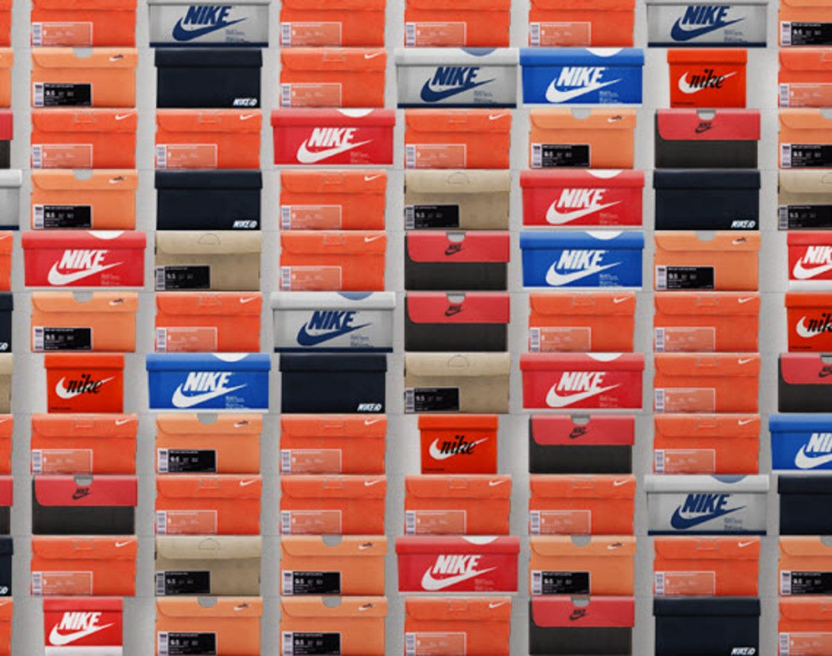 Nike Shoe Boxxxx - Facebook App | PROJECT ND STUDIO | Nike ...