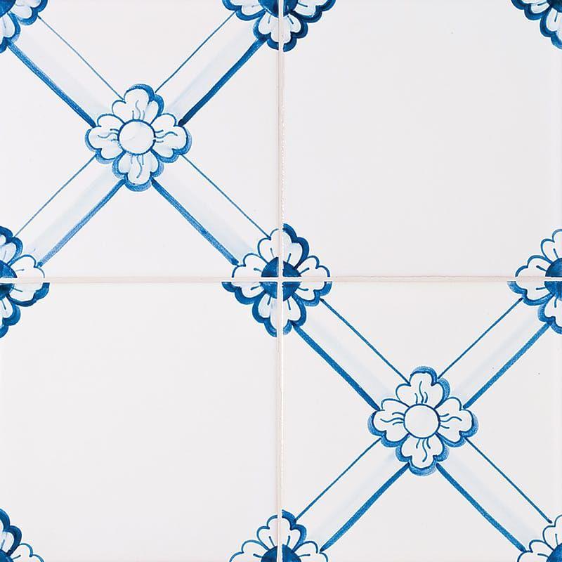 249 Gelosia Blue Glazed Ceramic Tiles 5 1 2x5 1 2 Country Floors Of America Llc Glazed Ceramic Tile Glazed Ceramic Ceramic Tiles