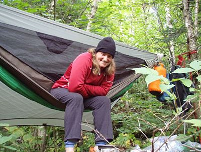 army officers and hikers jack tier and jack myer u0027s quest to shave pounds off their backpacking gear led them to selling quilts and accessories for hammock     backpacking hammock and tarp set up    stuff i want to get      rh   pinterest