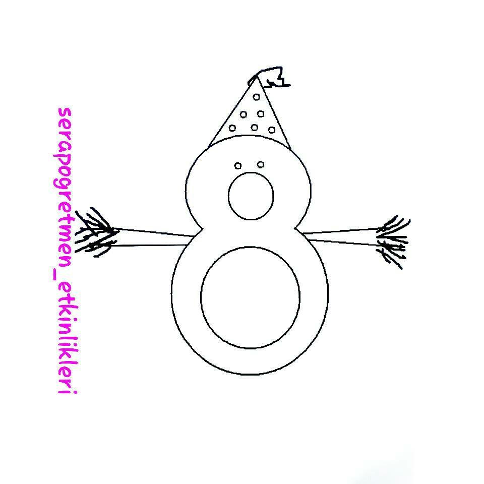 8 Rakamindan Kardan Adamlar Kalibi 8 8rakami