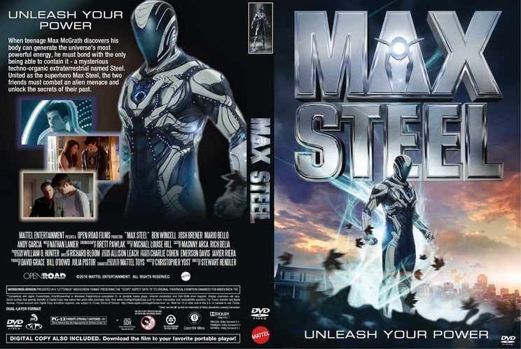Max Steel 2015 Custom Dvd Cover Proyectos Que Intentar