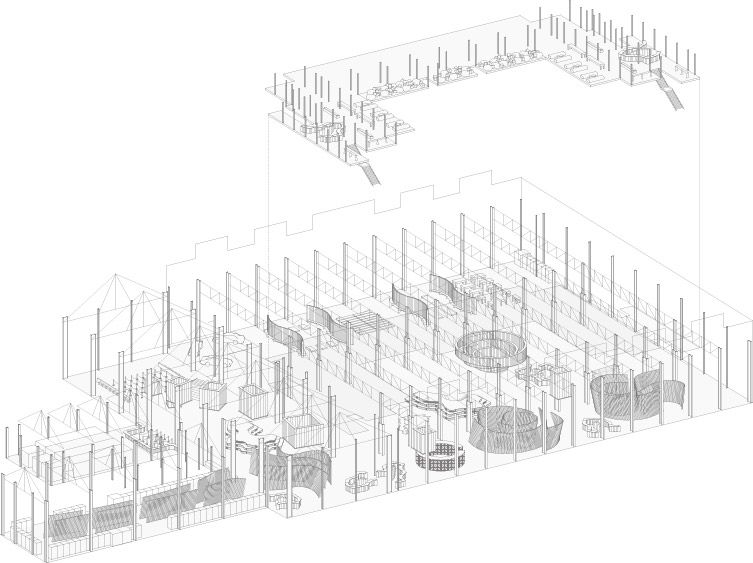 wireframe diagram of pier 70 layout a board for learning user rh pinterest com