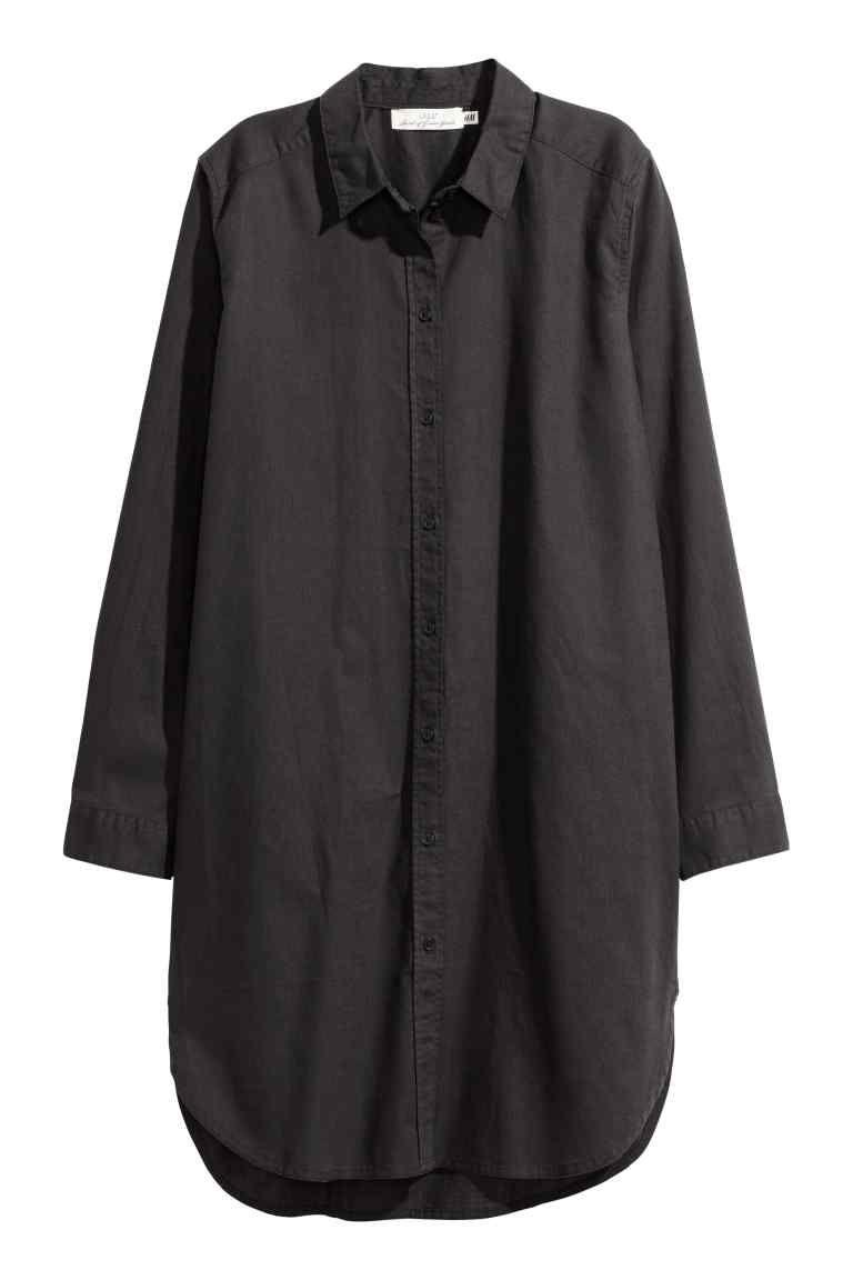 213b1e27ebfe Lang skjorte | Craft - Næste projekt | Cut shirts, Blouse og Shirts