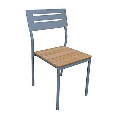 Chaise De Jardin Empilable En Eucalyptus Cour Saint Just Table