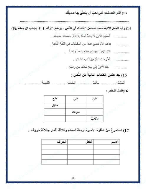 الصف الرابع الفصل الثالث لغة عربية أوراق عمل لجميع مهارات دروس اللغة العربية 2017 Teach Arabic Alphabet Worksheets Arabic Language