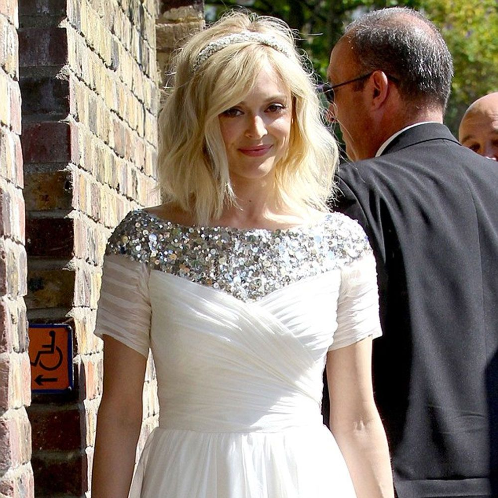 Love Fearne Cotton S Bobbed Bridal Hair