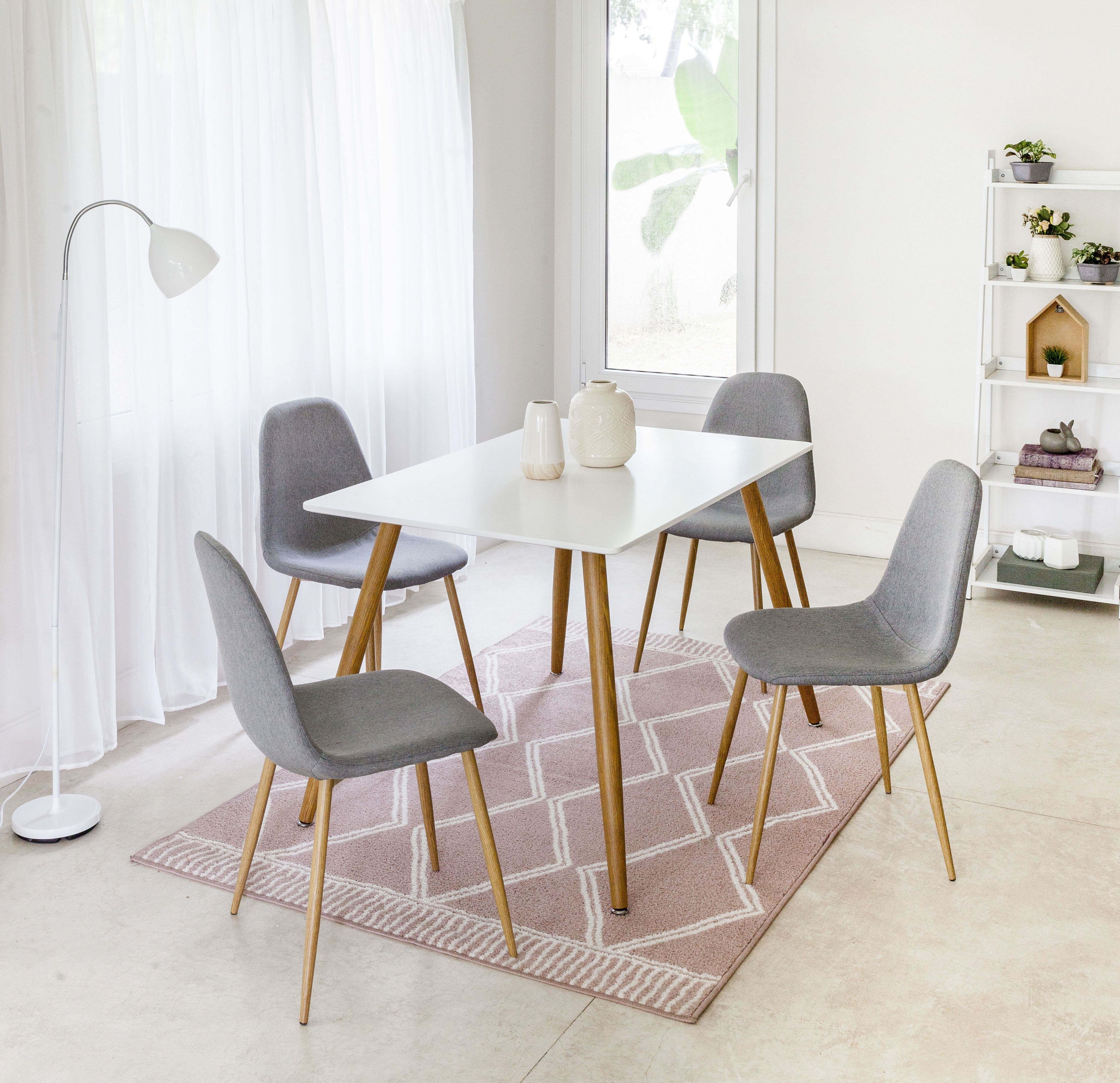 Comedor 4 Sillas Crispin #juegodecomedor #mesa #sillas #crispi ...