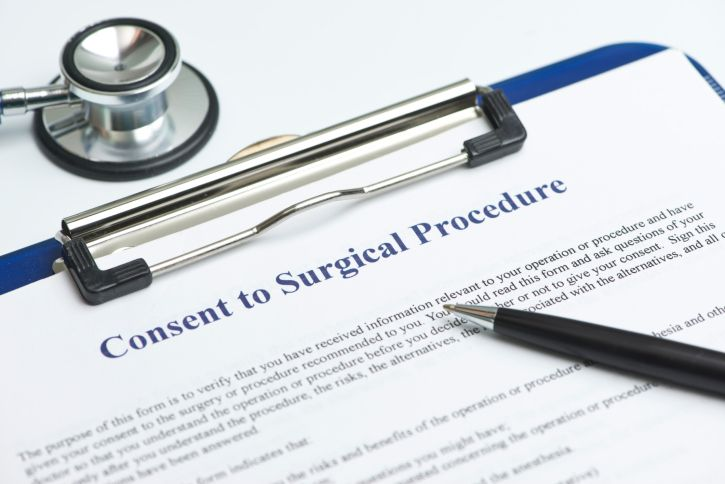 A man and his wife were awarded $1.5 million by a medical malpractice jury for a lack of informed consent claim.
