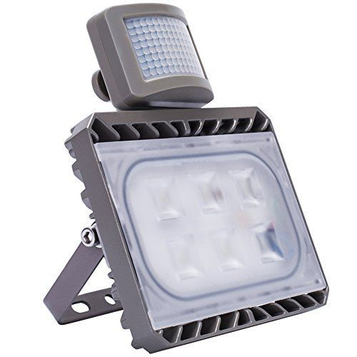 Outdoor Led Motion Lights Endearing Gosun Floodlights Waterproof Equivalent Daylight  White Lead Decorating Inspiration