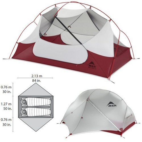 MSR Hubba Hubba NX 2-Person Tent - I ve used it for 2 years and am  satisfied with the quality and ease of set up. f2bac38600