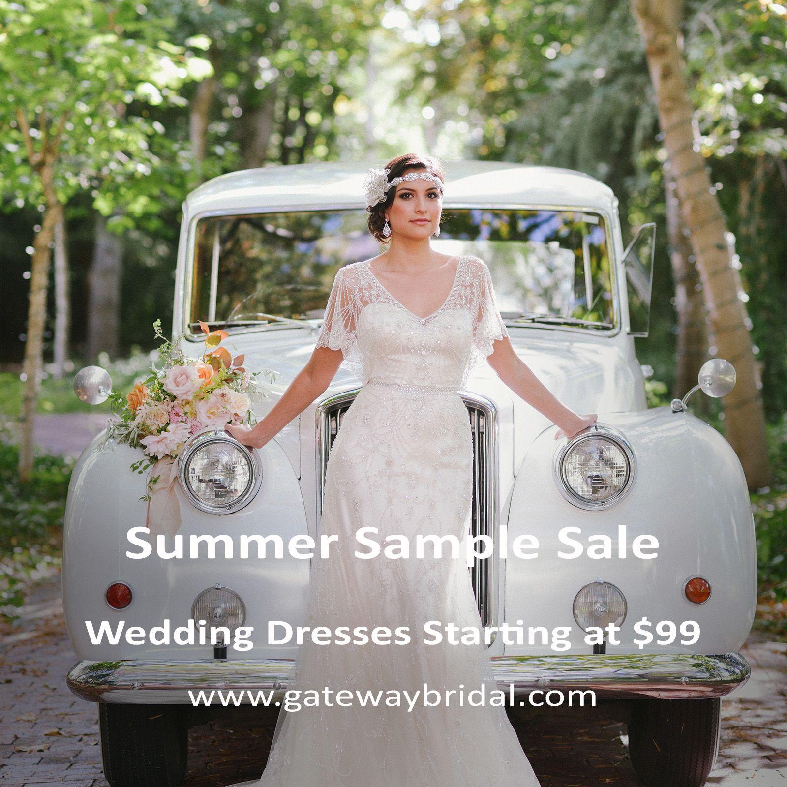 Gateway Bridals Summer Sample Sale Starts June 7