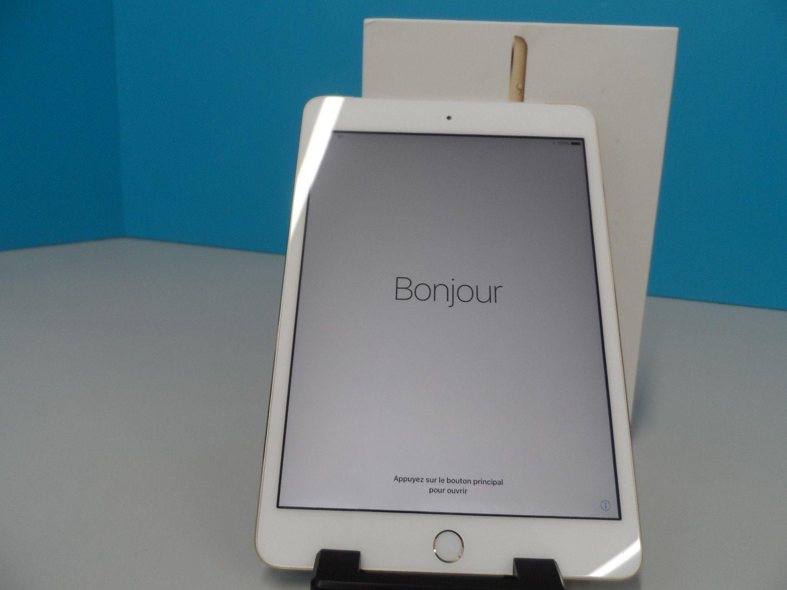 "Apple iPad Mini 3 A1600 Cellular A7 1GB 128GB Apple iOS 7.9"" Gold Tablet (99160) https://t.co/A4sN673tu0 https://t.co/GUpY27n0d7"