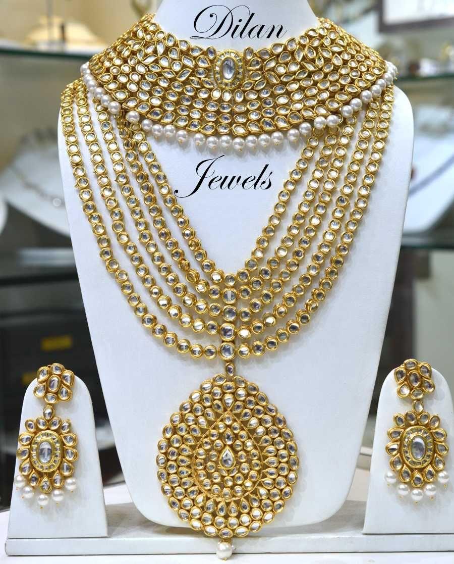 Bridal Kundan Set Indian Wedding Jewelry Indian Wedding Jewelry Sets Bridal Jewellery Indian