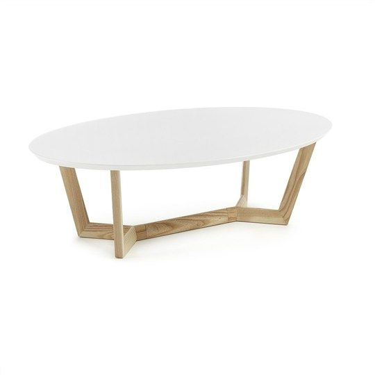 white and oak 120cm oval coffee table amias living styles liviu rh pinterest com