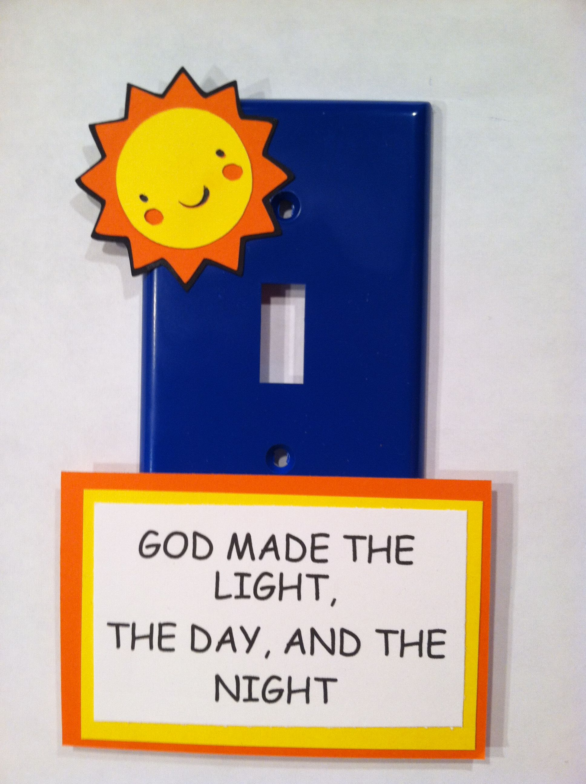 Day 1 of creation craft | VBS 2014 | Pinterest | Escuela y Infantiles
