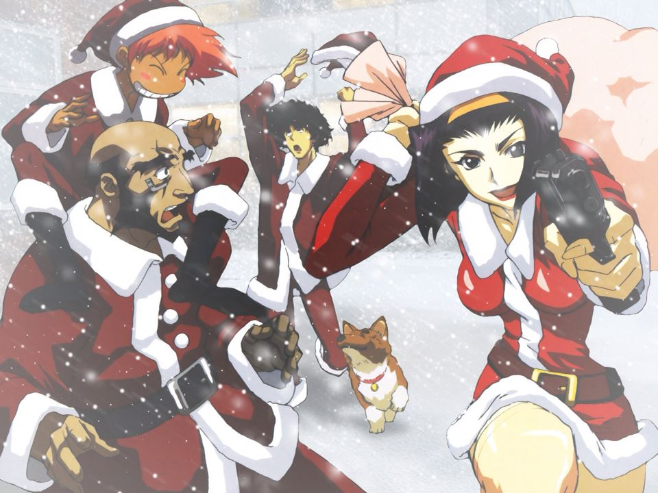 Cowboy Bebop Christmas! ;) | Anime and Manga | Pinterest | Cowboy ...