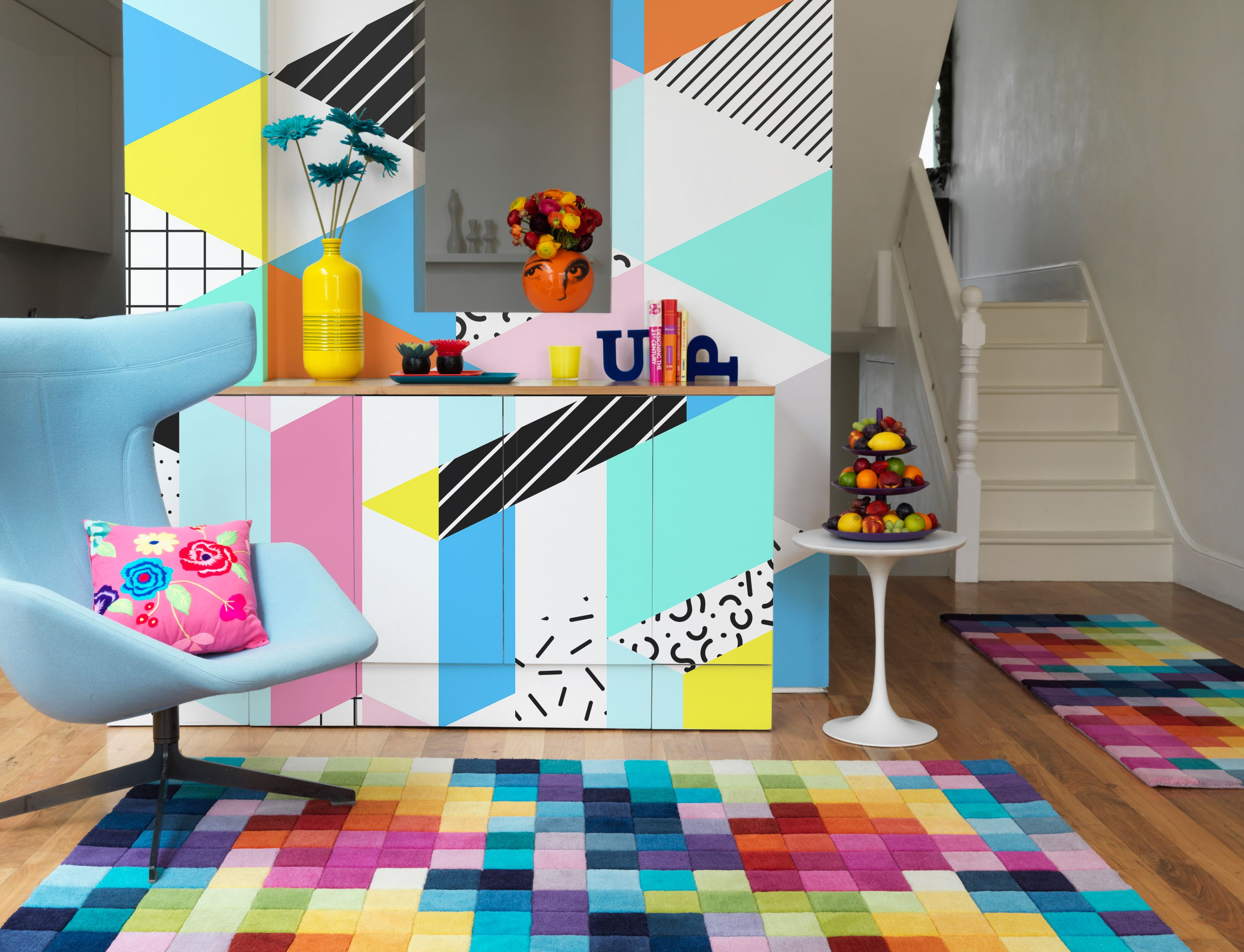Inspirational throw back to 80s iconic style created